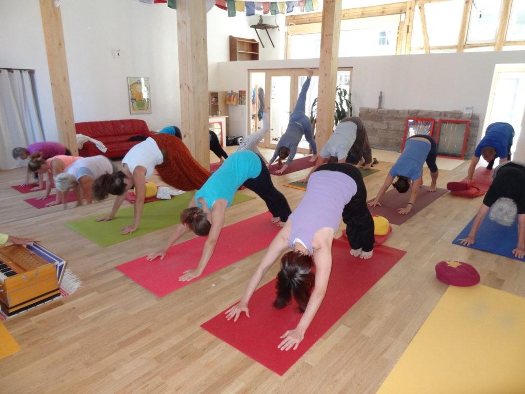 Unser neuer Yogaraum